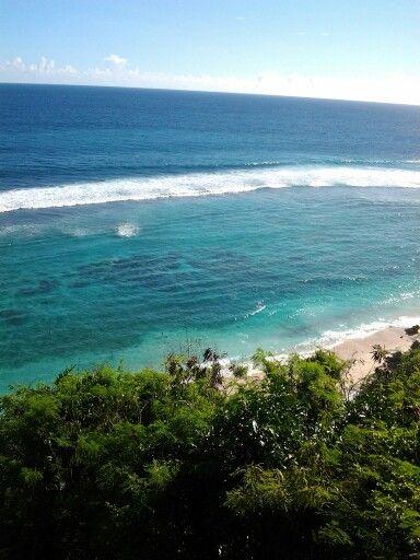 going down to karma beach.. paradise