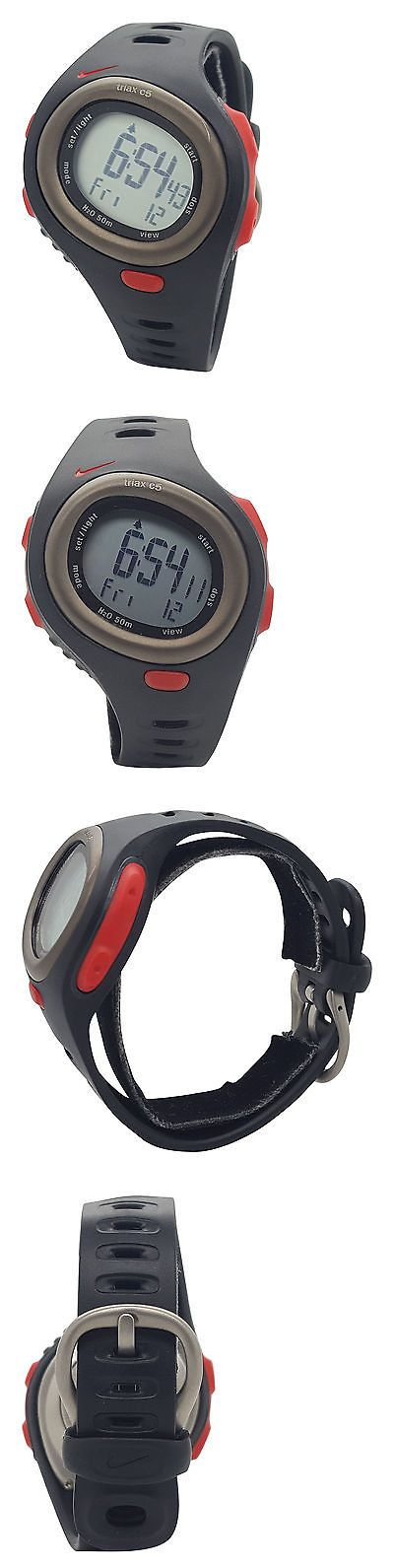 Heart Rate Monitors 15277: Nike Triax Hrm C5 Sm0015 Black Sport Red Silicone Heart Rate Monitor Watch -> BUY IT NOW ONLY: $49.95 on eBay!