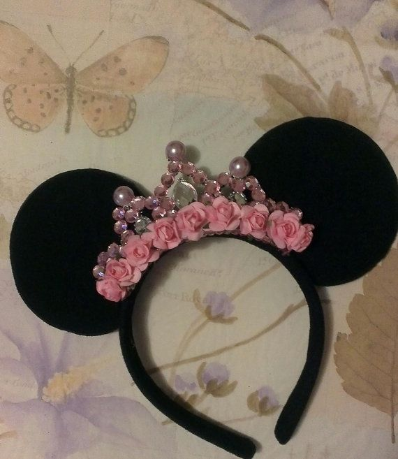 Orejas minnie mouse