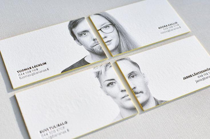 Portrait Business Card Design Business Cards