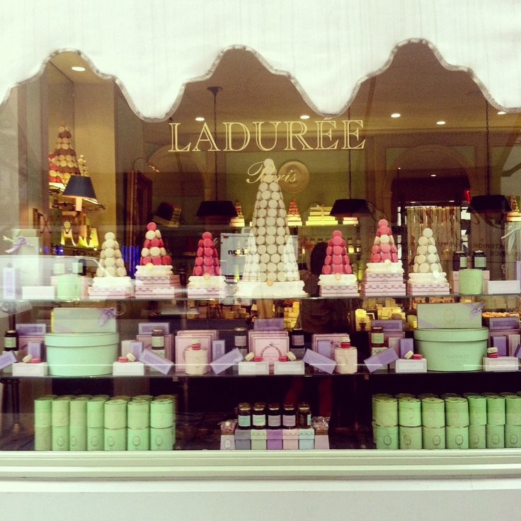 A Parisian legend has arrived in NYC: Laduree macarons.
