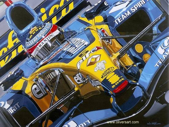 Perhaps one of the greatest engines and Renaults ever build, this is the Renault R25 from 2005, with over 1000hp, it was one of the last F1 cars to use 1000hp