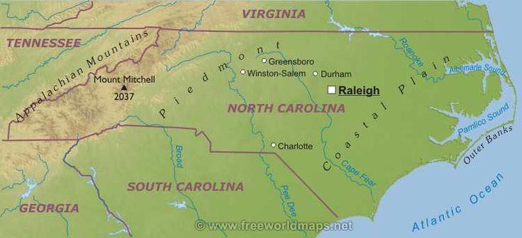 Северная Каролина штат : Флаг штата Северная Каролина Северная Каролина (англ. North Carolina) — штат на востоке США, один из так называемых Южно-Атлантических штатов. Столица — город Роли. Население — 9, 535 млн (2010). Официальное прозвище — «Штат дегтярников» (англ. Tarheel State).