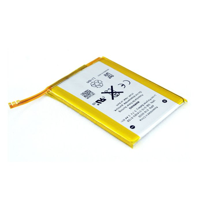 Grade A Quality iPod Touch 2 Battery  Kit Includes: •1 Replacement iPod Touch 2 Battery •1 Set of Replacement Adhesive