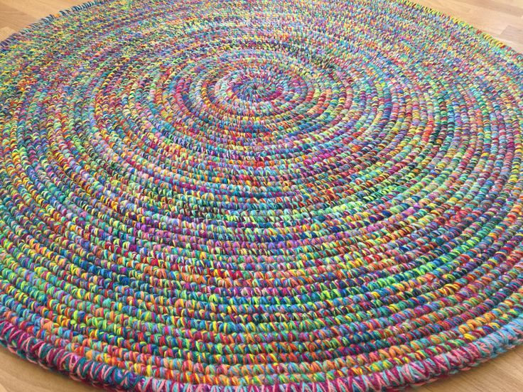 "Round rug, 49"" (125 cm)/Rugs/Rug/Area Rugs/Floor Rugs/Large Rugs/Handmade Rug/Carpet/Wool Rug by AnuszkaDesign on Etsy"