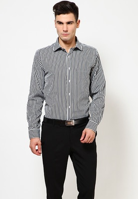 Black Formal Shirt Price: Rs.821
