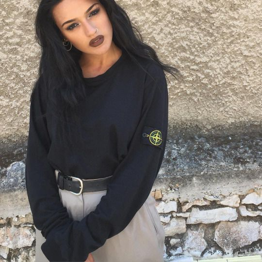 We are seeing a growing trend in women wearing Stone Island