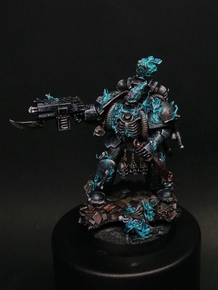 Warhammer 40k | Space Marines | Legion of the Damned True Scale Space Marine…