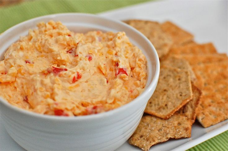 Pimento Cheese and Crackers