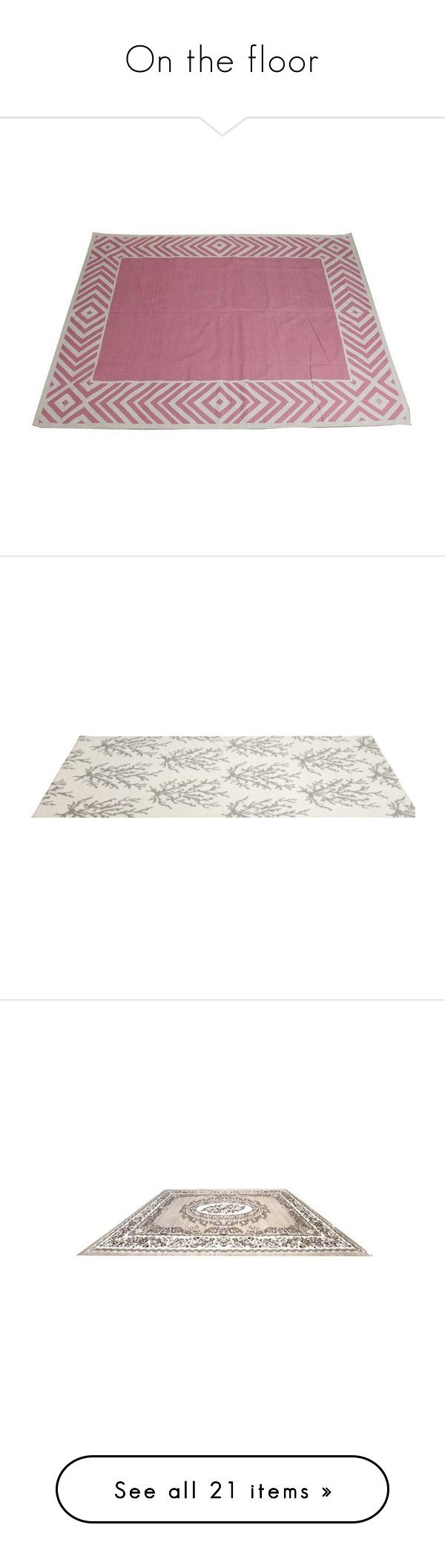 """""""On the floor"""" by amara-m-hafeez ❤ liked on Polyvore featuring home, rugs, flatweave cotton rug, flat weave rug, madeline weinrib rugs, flatwoven rug, cotton area rugs, tapete, flat weave rugs and flat woven area rugs"""