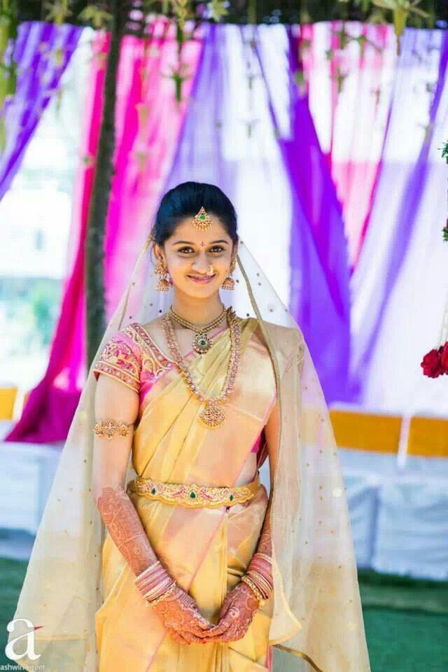 South indian bride.