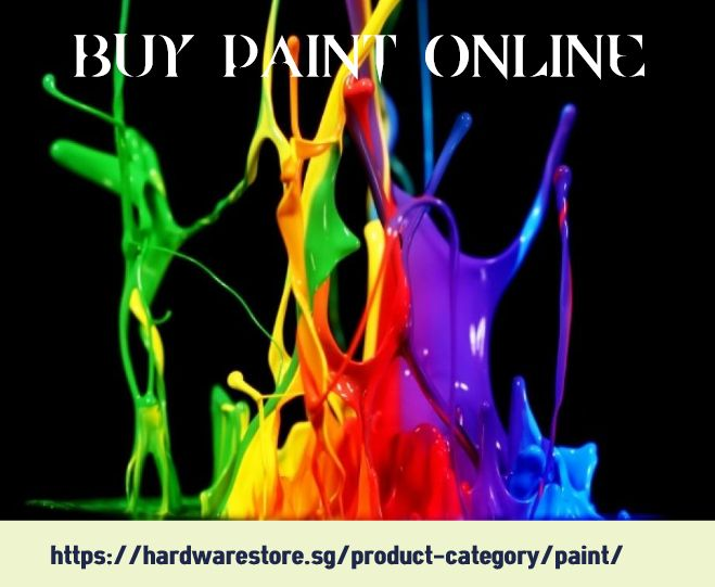Buy Paint Online now, so all your worries could be left aside. It seems much more interesting to sit comfortably in your chair, in front of your computer and relish with the palette of colors what are going to thrill your eyes. For more information visit our website: https://hardwarestore.sg/product-category/paint/