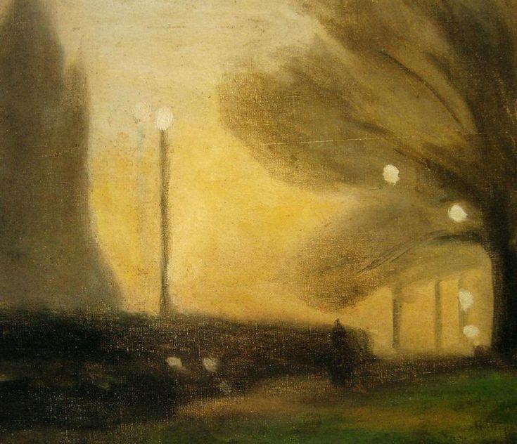 """Master of the half-light"" KB Dusk by Clarice Beckett"