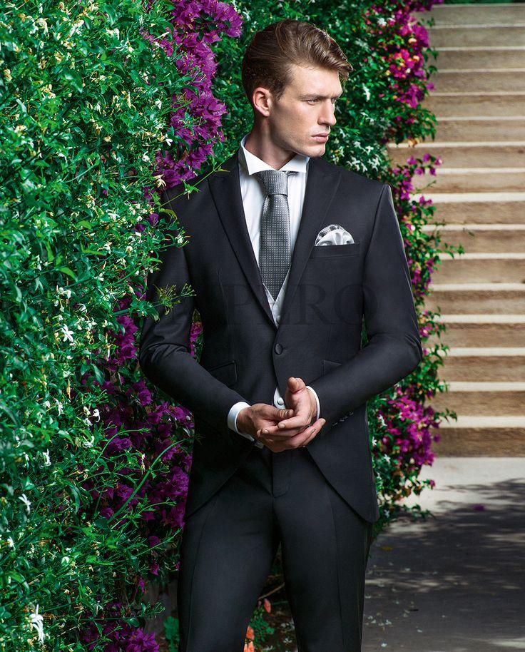 EG 72-17 #sposo #groom #suit #abito #wedding #matrimonio #nozze #nero #black #gray #grigio