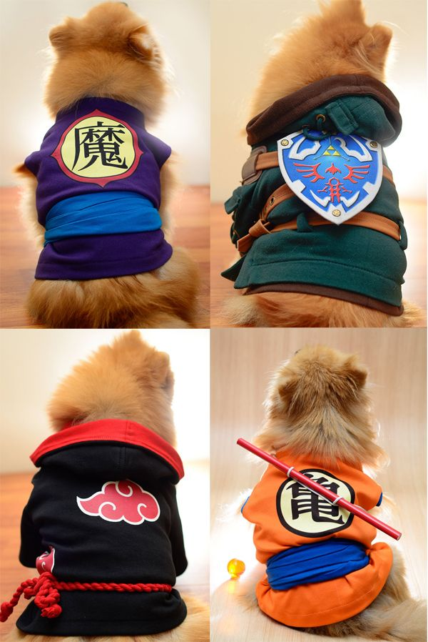 High Quality Costumes For Discerning Cosplay Pups