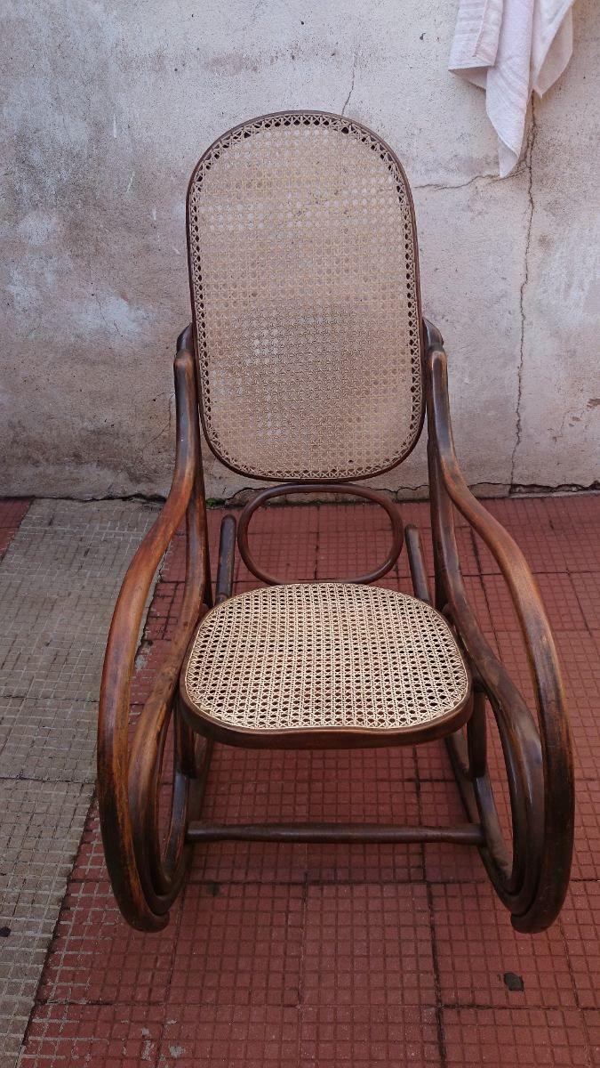 (gorpley) Antiga Cadeira De Balanço Estilo Thonet / Gerdau - R$ 550,00 no MercadoLivre