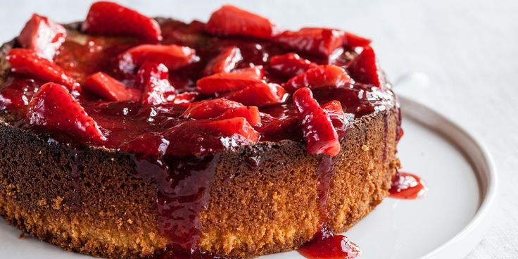 Adam Gray's delicious lemon cake recipe is completely gluten free. It comes served with strawberry jam