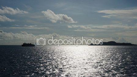 View near krakatoa — Stock Photo © photostocknatonny #77368738