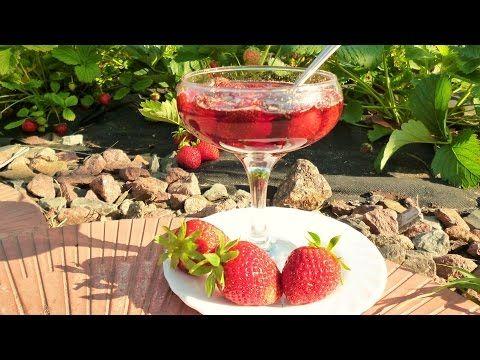 Как сварить густое клубничное варенье с твердыми ягодами - YouTube