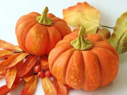 Купить В НАЛИЧИИ. Хэллоу, тыквы! - тыквы, оранжевый, рыжий, в пятна, рыже-белый, осень