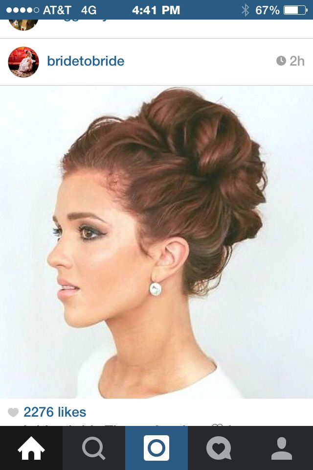 If I ever try an #updo... This might be the one.