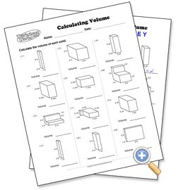 calculating volume math geometry pinterest teaching math math. Black Bedroom Furniture Sets. Home Design Ideas