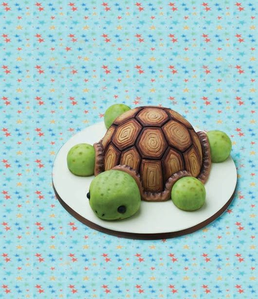 The 25 best lizard cake ideas on pinterest crocodile party turtle cake this lovable tortoise is going nowhere fast only basic modelling skills are required pronofoot35fo Choice Image