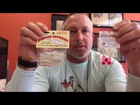 LIVE CRAPPIE RIGGING TIPS! We're here to help! - YouTube