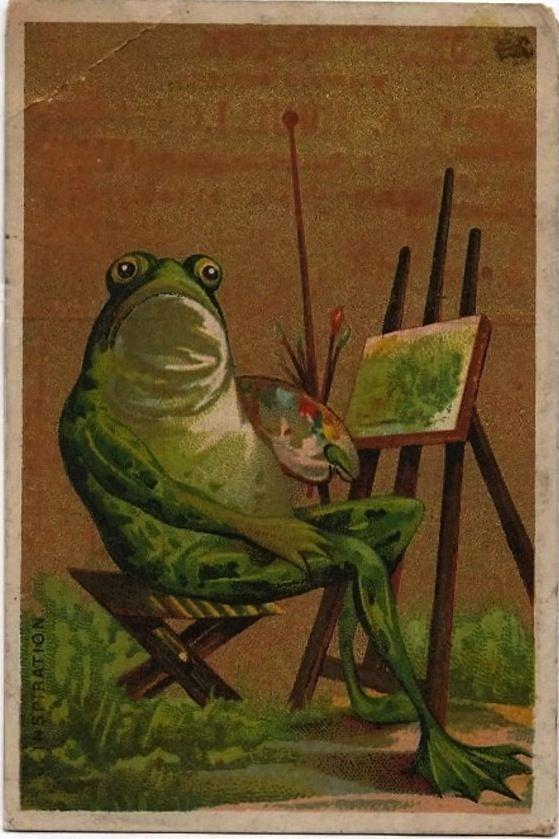 Картинки, жаба открытки