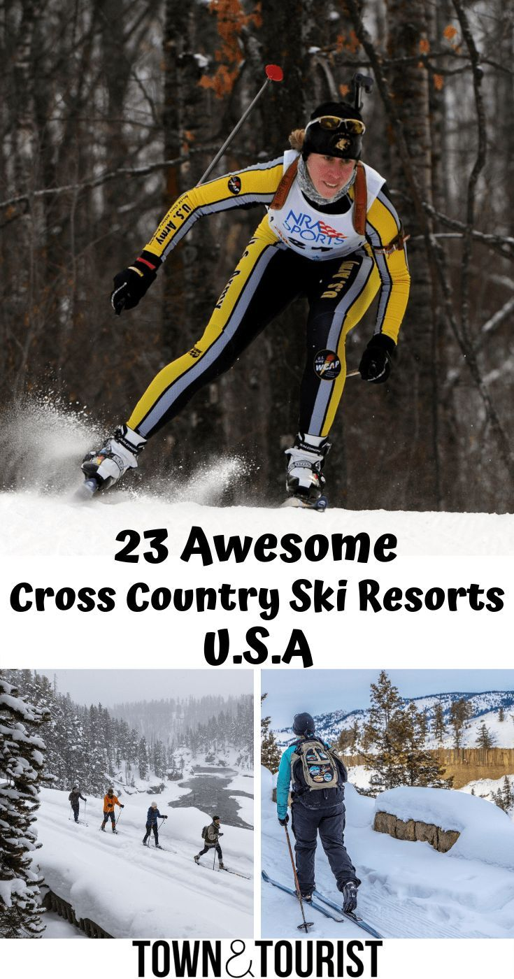 23 Awesome Cross Country Skiing Resorts U S A Skiing Resorts Cross Country Skiing Ski Resort Usa