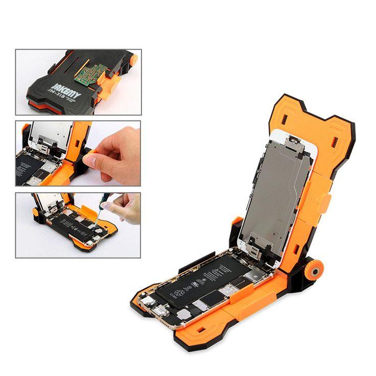 Jakemy jm-z13 adjustable tetap layar perbaikan pemegang untuk iphone 6s 6 plus teardown kerja perlengkapan & pcb pemegang penjepit