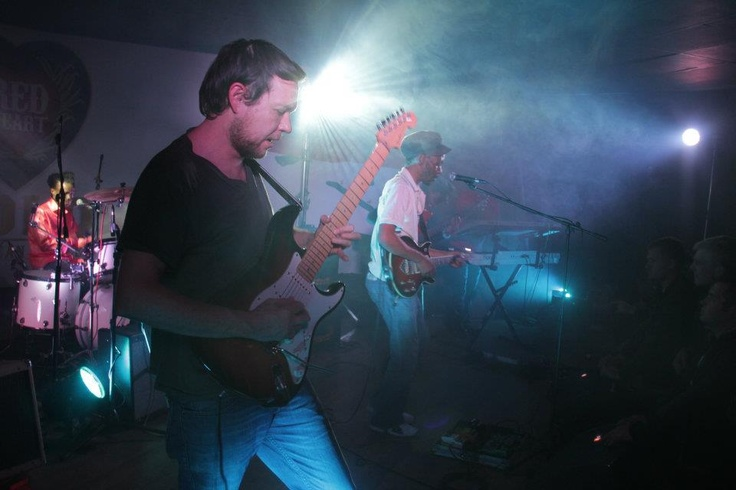 Tidal Waves on stage @ Arcade Empire