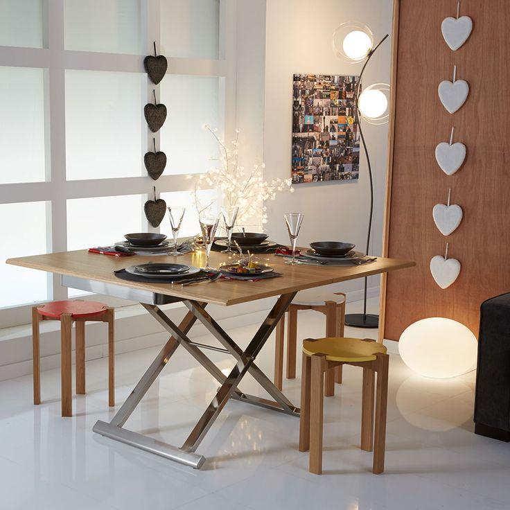 Table réglable multi-positions - Get up - Tables basses-Tables basses, Bouts de canapé-Salon, Salle à manger-Par pièce - Décoration intérieur - Alinea
