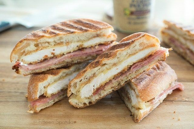 This Chicken Cordon Bleu Panini Recipe is so easy to whip together and makes a perfect lunch or dinner. So quick too!