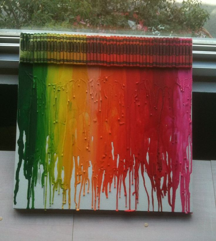 love this...gotta try it!Crayons Rainbows, Crafts Ideas, Melted Crayons, Kids Crafts, Fabulous Photos, Colors Ideas