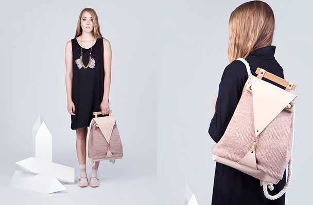The Minimal Nude Backpack is beautiful and fashionable, will hold all your stuff and make you look good doing it.  #backpack #style #fashion