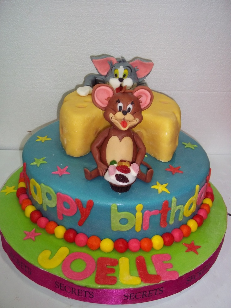 25 best Tom and Jerry Birthday Party images on Pinterest Jerry o