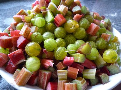 Rhubarb and Gooseberry Jam Recipe | Garden, Tea, Cakes and Me