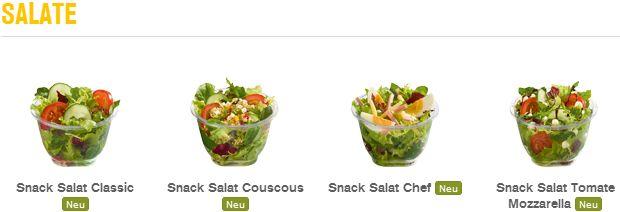 Neue Salate und McWraps bei McDonalds