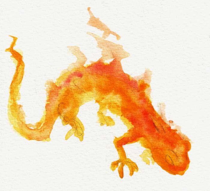 Fire Salamander by Night-Owl8.deviantart.com on @deviantART