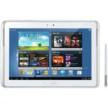 "Samsung Galaxy Note N8000 Táblagép, 10.1"", 16GB, Wi-Fi, 3G, Android 4.0, Fehér"