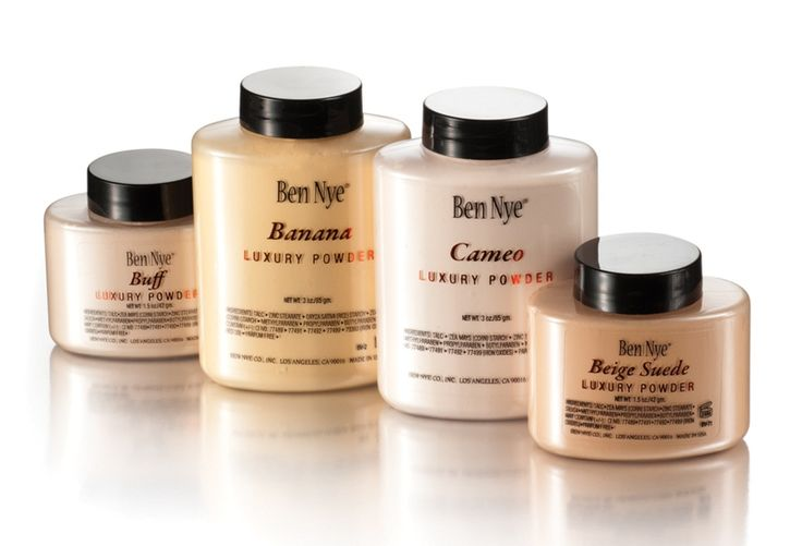 This Ben Nye Banana  Powder is the secret weapon behind Kim Kardashian's flawless makeup - specifically her dark circle free eyes. After applying foundation, use an undereye concealer that's 1 shade lighter under and around the eyes including the inner corners. Take a Beauty Blender sponge and apply the Banana Powder to set. Watch dark circles and flaws disappear!