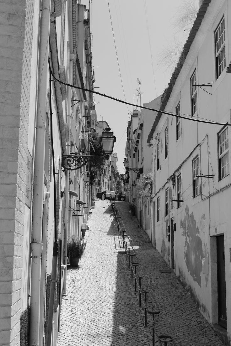 Lisbon city view. July 2014