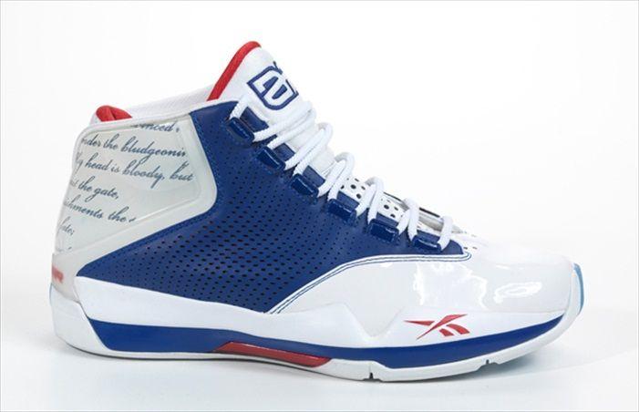 Allen Iverson Shoes | Allen Iverson Reebok Answer 12 Navy Red shoes reebok iverson