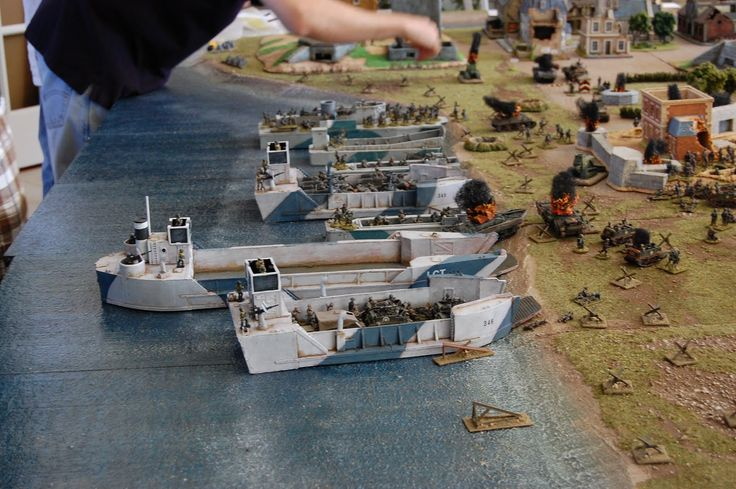 flames of war d day beach landing mat