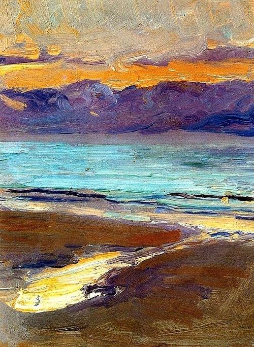 Joaquin Sorolla y Bastida - Beach