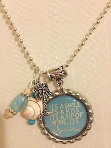 Its Summertime Kenny Chesney Inspired Necklace