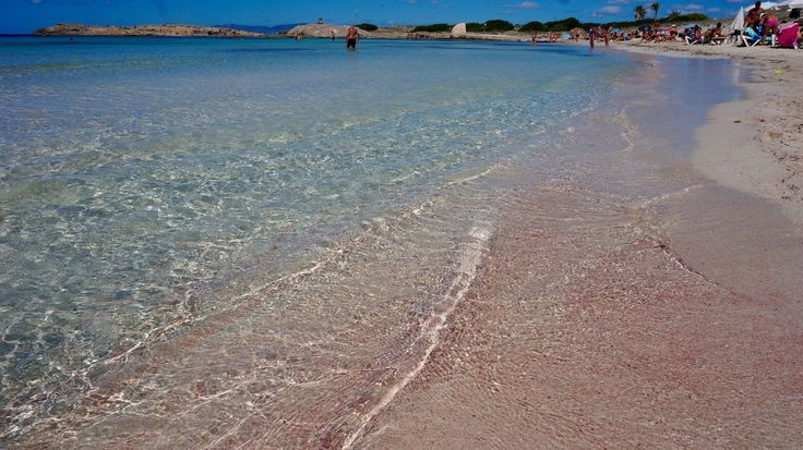 Have you seen the pink sand on the island of Formentera Spain?  Just a day trip from the incredible Ibiza you will reach this gorgeous island! Have you been? What did you think?