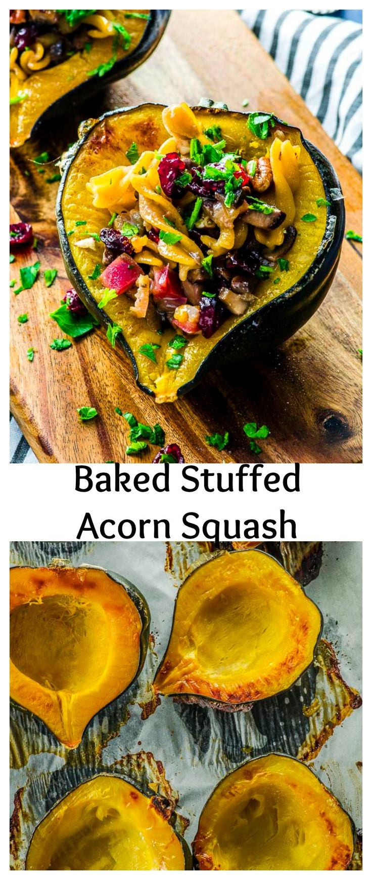 This Baked Stuffed Acorn Squash recipe is easy to…Edit description