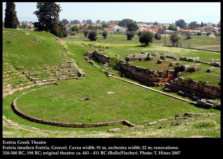 Eretria Greek Theatre, ca. 441 BC, http://www.whitman.edu/theatre/theatretour/eretria/eretria.htm